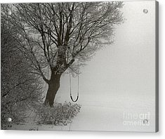 Acrylic Print featuring the photograph Silently Swinging by Jan Piller