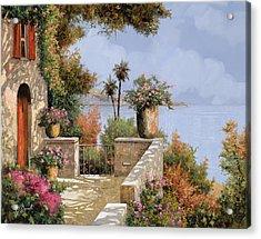Silenzio Acrylic Print by Guido Borelli