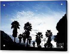 Silhouette In Tropea Acrylic Print
