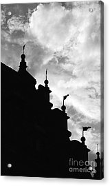 Silhouette Of The Roof In Rothenburg Germany Acrylic Print by Hideaki Sakurai