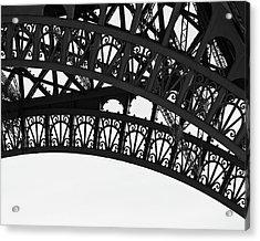 Silhouette - Paris, France Acrylic Print
