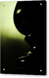Silhouette Acrylic Print by Rebecca Sherman