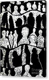 Silhouettes 2 Acrylic Print