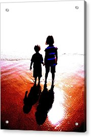 Silhouettes Acrylic Print by Tim Tanis