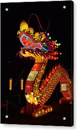 Silk Dragon Acrylic Print