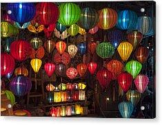 Silk Lanterns Acrylic Print
