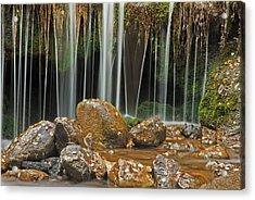 Silky Falls Acrylic Print