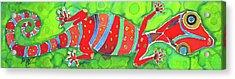 Silky Gecko Acrylic Print by Kelly     ZumBerge