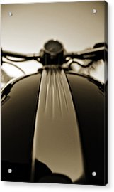 Silky Lines Acrylic Print by Mark Weaver