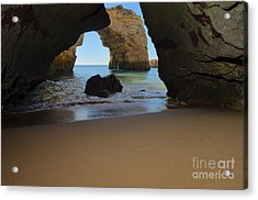 Silky Sands And Arch Acrylic Print