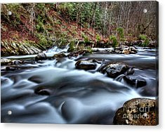 Acrylic Print featuring the photograph Silky Smooth by Douglas Stucky