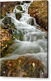 Silky Waterfall Acrylic Print