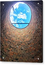 Silo Look Up Acrylic Print