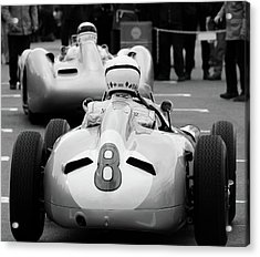 Silver Arrows Number 8 Acrylic Print