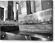 Reflections Of Absence Acrylic Print