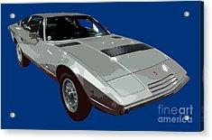 Silver Classic Sport Art Acrylic Print