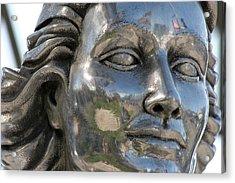 Silver Delores Del Rio Acrylic Print
