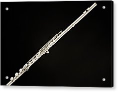 Silver Flute Acrylic Print