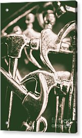 Silver Hammers Acrylic Print by Jorgo Photography - Wall Art Gallery