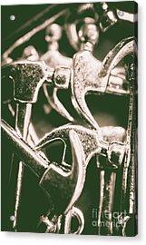 Silver Hammers Acrylic Print