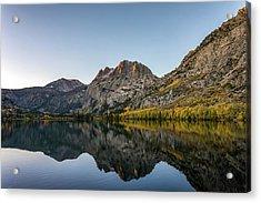 Silver Lake At Sunrise Acrylic Print by K Pegg