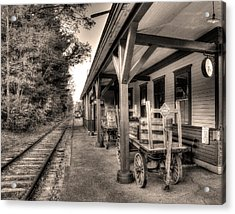 Silver Lake Rail Road 253 Acrylic Print