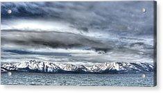 Silver Lake Tahoe Acrylic Print by Brad Scott