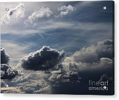 Silver Lining Acrylic Print by Erica Hanel