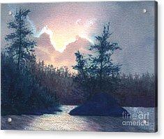 Silver Lining Acrylic Print