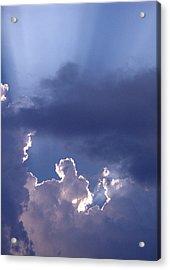 Silver Lining Acrylic Print by Nicole I Hamilton