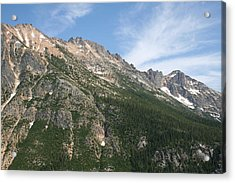 Silver Star Mountain Fc Acrylic Print by Dylan Punke