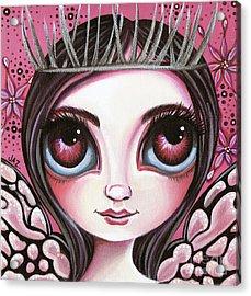 Silver Thorn Acrylic Print by Jaz Higgins