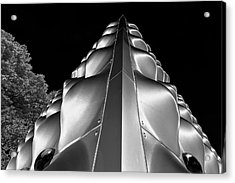 Silver Triangle Acrylic Print