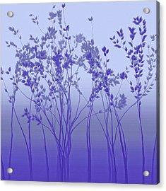 Silver Twilight Acrylic Print