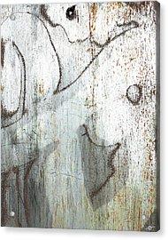 Silver Woman Acrylic Print