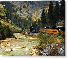Acrylic Print featuring the photograph Silverton Bound by Kurt Van Wagner