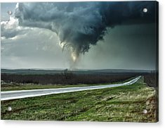 Silverton Texas Tornado 2 Acrylic Print