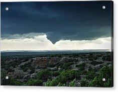 Silverton Texas Tornado Forms Acrylic Print