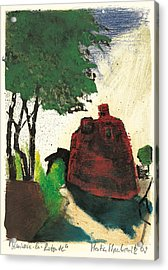 Simiane La Rotonde Acrylic Print by Martin Stankewitz