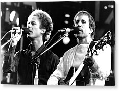 Simon And Garfunkel 1982 Acrylic Print