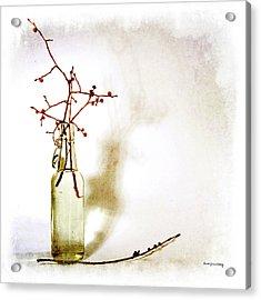 Simple Beginning Acrylic Print by Randi Grace Nilsberg