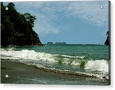 Simple Costa Rica Beach Acrylic Print