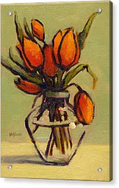Acrylic Print featuring the painting Simple Elegance by Konnie Kim