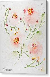 Simple Flowers #2 Acrylic Print