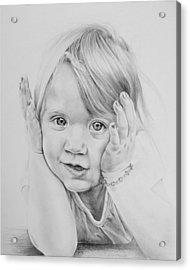 Simple Innocence  Acrylic Print by Patrick Entenmann