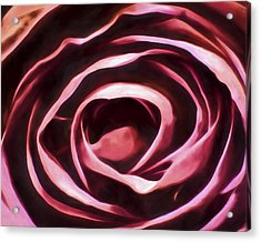 Simple Rose Acrylic Print