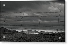 Acrylic Print featuring the photograph Simple West by Al Swasey