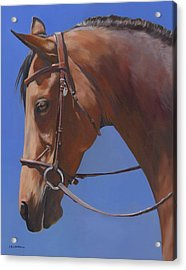 Acrylic Print featuring the painting Simplicity by Alecia Underhill