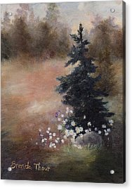 Acrylic Print featuring the painting Simplicity by Brenda Thour