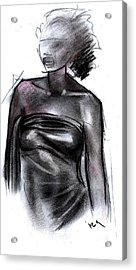 Simplicity Of Beauty Acrylic Print by Okwir Isaac